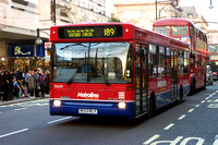 Route 189, Metroline, DLD33, R133RLY, Oxford Street