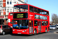 Route 147, Stagecoach London 17546, LY02OAV, Upton Park