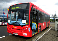 Route 573, Go Ahead London, SE144, YX61BXM, London City Airport
