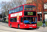Route 473, Stagecoach London 17488, LX51FMG, Stratford