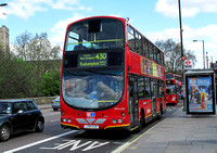 Route 430, Go Ahead London, WVL208, LX05EZE, Putney Bridge