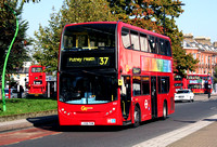 Route 37, Go Ahead London, E37, LX06FKM, Peckham Rye