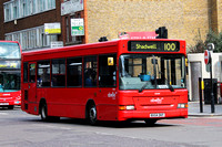 Route 100, Abellio London 8304, BX54DKF, Aldgate
