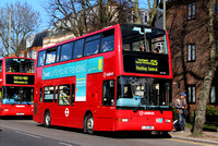 Route 125, Arriva London, DLP84, LJ51ORK, Finchley
