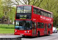 Route 417, Arriva London, DLA173, W373VGJ, Clapham Common