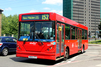 Route 152, Abellio London 8471, HX04HTY, Colliers Wood
