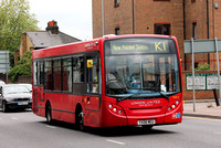 Route K1, London United RATP, SDE6, YX08MEU, Kingston