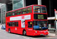 Route 277, Stagecoach London 17741, LY52ZDZ, Canary Wharf