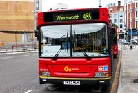 Route 485, Go Ahead London, LDP224, SK52MLY, Hammersmith