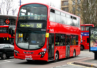 Route 58, First London, VN37842, BV10WVM, Walthamstow