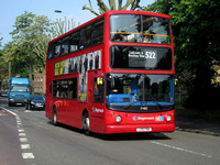 Route 522, Stagecoach London 17485, LX51FMD, Brockley