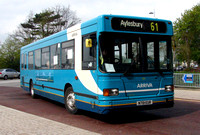 Route 61, Arriva the Shires 3151, N701EUR, Aylesbury
