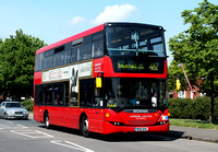 Route 482, London United RATP, SP17, YN08DHA, Hounslow West
