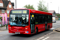 Route 116, London United RATP, DLE16, SN60EBX, Feltham