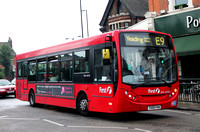 Route E9, First London, DML44126, YX09FKW, Ealing Broadway