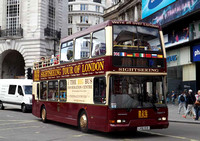 Big Bus Tours, DA1, LV51YCD, Piccadilly Circus