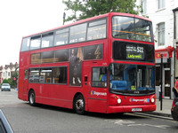Route 522, Stagecoach London 17478, LX51FLP, Brockley Rise