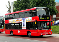 Route N207, First London, SN36043, YR61RSU, Ealing Hospital