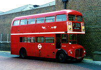 Route 2B, London Transport, RM2207, CUV207C, Victoria Garage