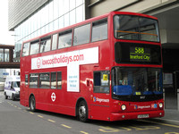 Route 588: Hackney Wick - Stratford City [Withdrawn]