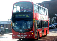 Route H50, Travel London, V66, BX55XNV, Hayes