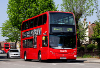 Route 179, First London, DN33553, SN58CFZ, Chingford
