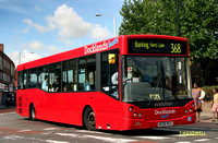 Route 368, Docklands Buses, ED5, AE06HCG, Barking
