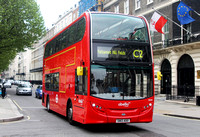 Route C2, Abellio London 9543, SN12ADO, Portland Place