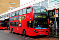 Route 222, London United RATP, ADE9, YX12FNP, Hounslow