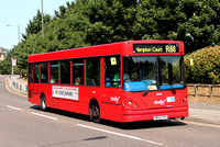 Route R68, Abellio London 8745, RN52FPA, Kew Retail Park