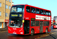 Route 365, First London, DN33545, SN58CFL, Romford