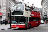 Arriva Sightseeing, DLP209, T209XBV, Piccadilly Circus