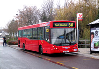 Route 549, Docklands Buses, ED27, LX07BYT, Loughton