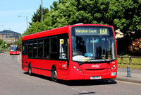 Route R68, Abellio London 8546, YX10FFH, Kew Retail Park