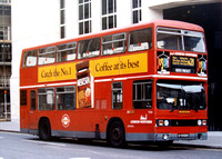 Route N21, London Northern, T528, KYV528X, Trafalgar Square