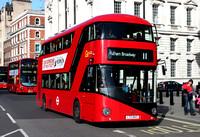 Route 11, Go Ahead London, LT43, LTZ1043, Whitehall