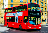 Route 188, Abellio London 9056, BX55XNK, Elephant & Castle
