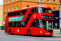 Route 148, London United RATP, LT124, LTZ1124, Lambeth North