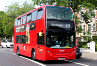 Route E9, Abellio London 9459, LJ09CDY, Ealing Broadway