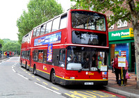 Epsom Shuttle, London Central, PVL220, Y802TGH, Morden