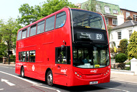 Route E9, Abellio London 9462, LJ09CEF, Ealing Broadway