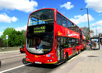 Route 430, Go Ahead London, WVL60, LF52ZPX, Putney Bridge
