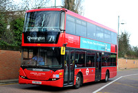 Route 71, London United RATP, SP98, YT59SGV, Kingston
