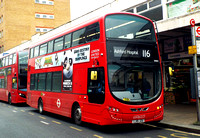 Route 116, London United RATP, VH41, LJ15JZU, Hounslow
