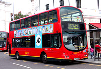 Route 14, Go Ahead London, WVL39, LF52ZRY, South Kensington