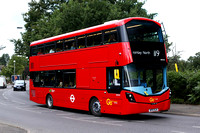 Route 119, Go Ahead London, WHV43, BP15OLM, West Wickham