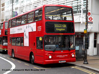 Route 131, London United RATP, TA326, SN03EAG, Wimbledon