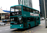 Training, Arriva London, DLA56, S256JUA, Elephant & Castle