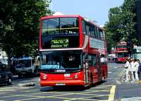 Route 24, Arriva London, DLA293, Y493UGC, Trafalgar Square