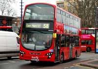 Route 58, First London, VN37828, BG59FXB, Walthamstow